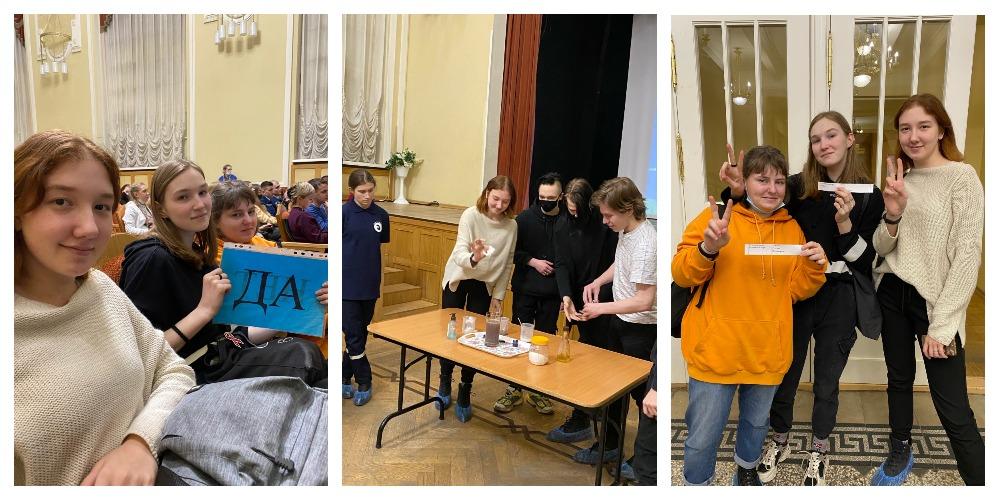 Во Дворце учащейся молодежи Санкт-Петербурга прошло Ток-шоу «Загляни в море»