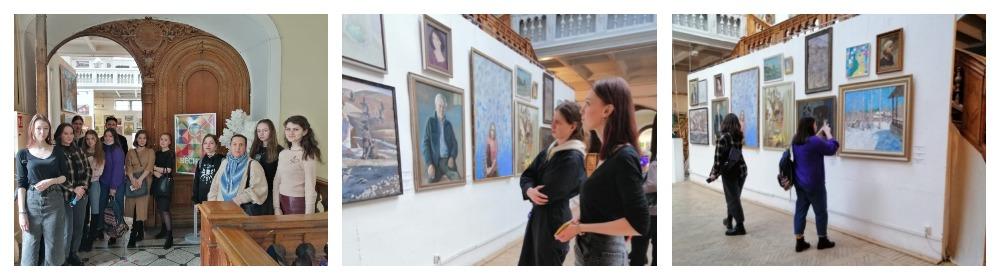 Студенты группы 01Б-2 посетили выставку