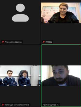 Участие студентов в форсайт-сессии онлайн